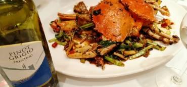 薑蔥炒蟹 Ginger and Scallion Crab